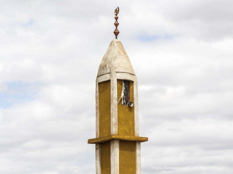 alminar de la mezquita el sod