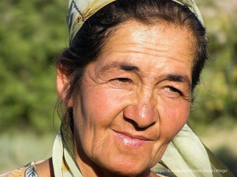 retrato de mujer en khiva