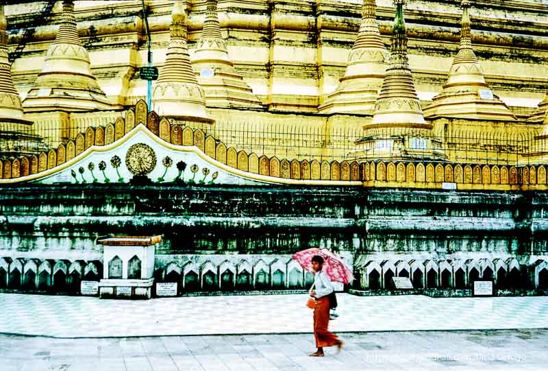 pagoda swedagon en Birmania