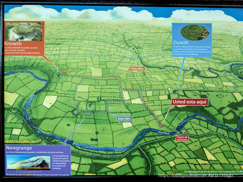 mapa de newgrange
