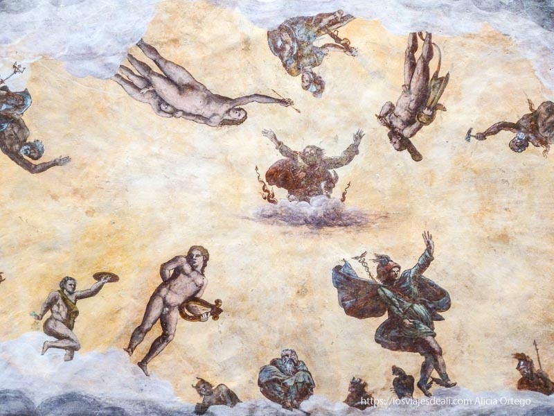 bóveda con frescos cristianos en palermo desconocido