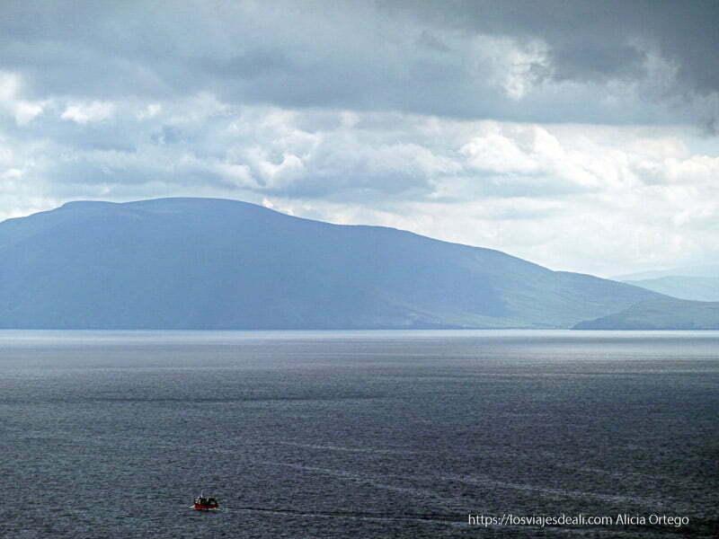 mar y montaña península de dingle