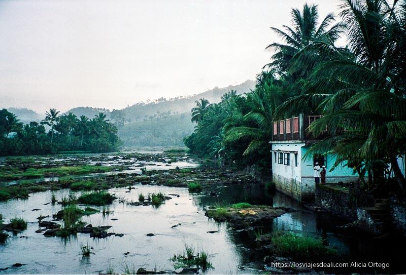 lago de periyar de tamil nadu a kerala