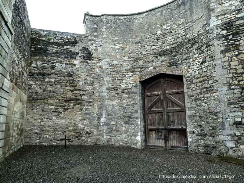 patio de la prisión de kilmainham