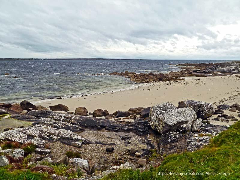 playa de carraroe qué ver en galway