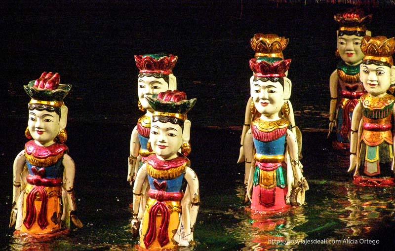 marionetas de agua qué ver en hanoi
