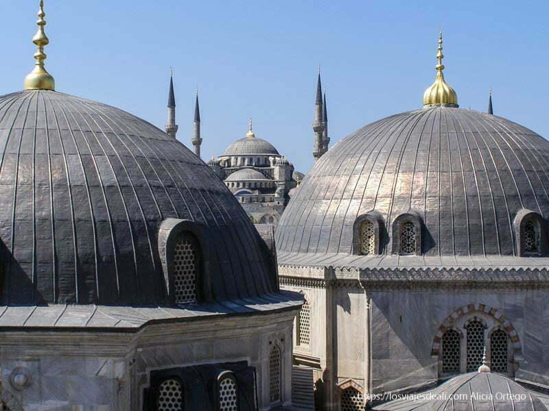 mezquita azul y cúpulas de santa sofía qué ver en un día en estambul