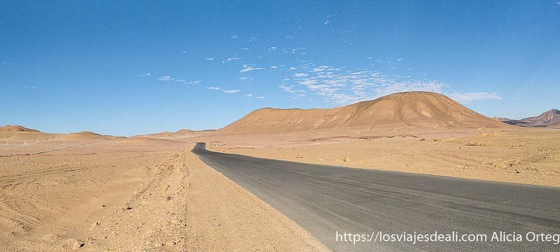 carretera en el desierto resumen de un gran año de viajes