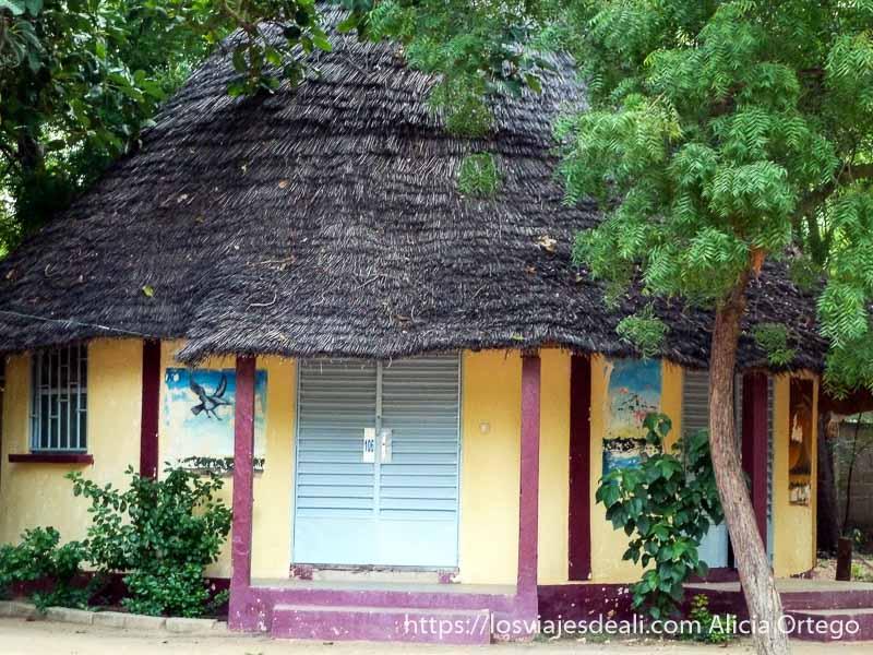 bungalow del hotel de kousseri