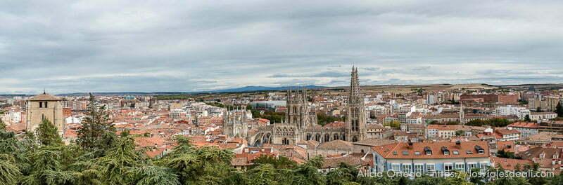 panorámica de Burgos con la catedral