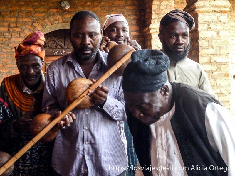 juglares del sultán de foumban