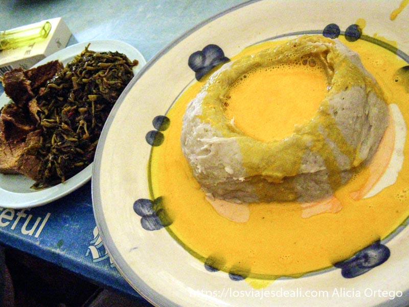 plato tradicional de camerún montes bamileké