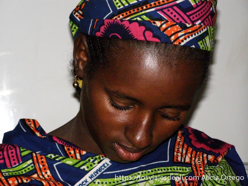 mujer de la cooperativa de sabga montes bamileké