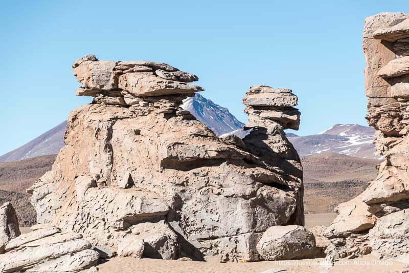 rocas del desierto silloni en bolivia