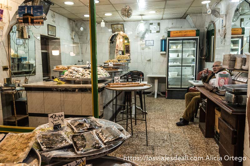 pastelería árabe en sidón