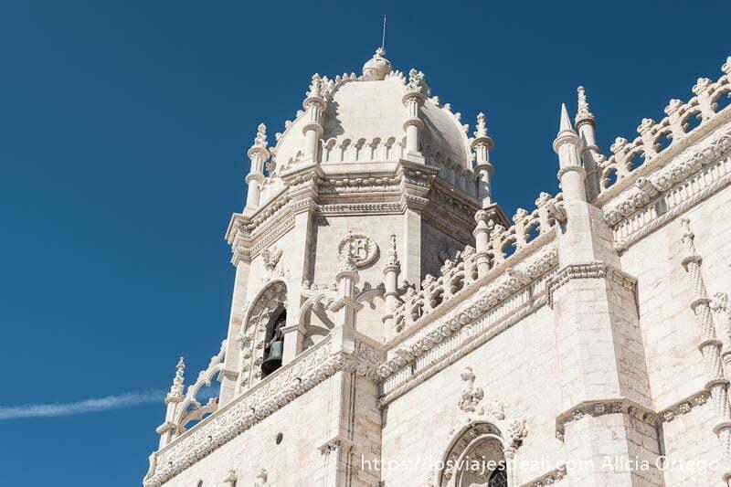 torre del monasterio de los jerónimos en belem