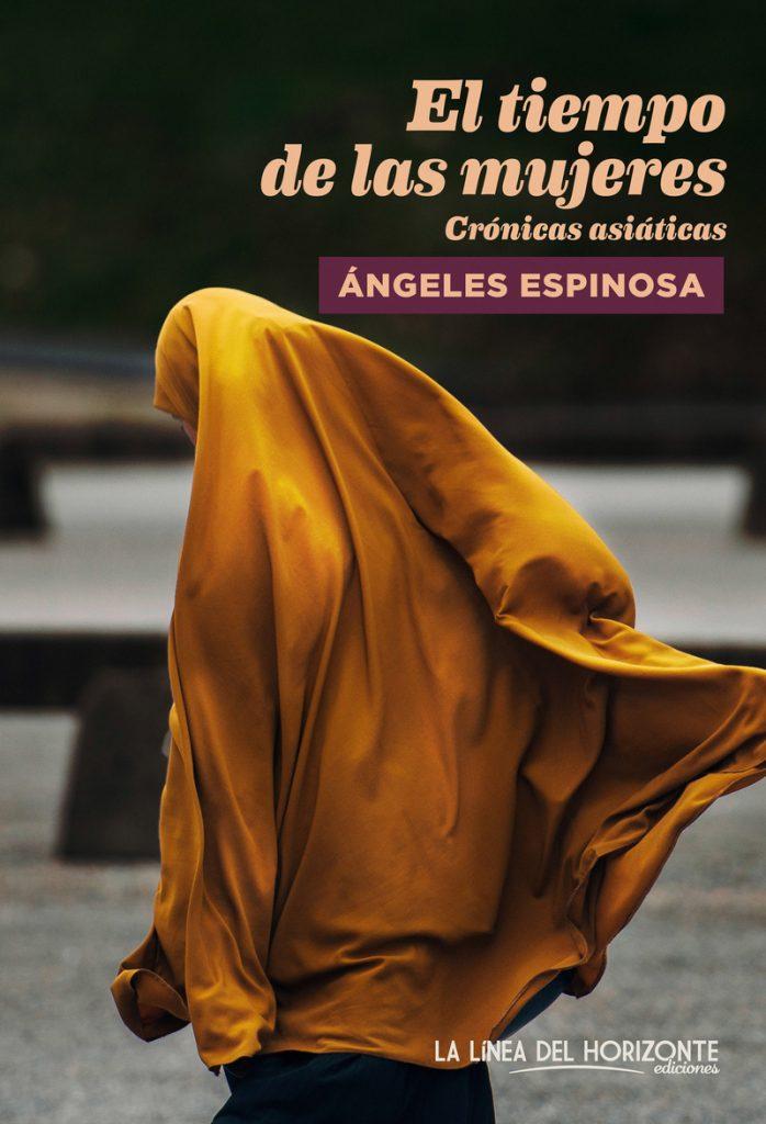 portada del libro El tiempo de las mujeres con una mujer con chador de color cobre