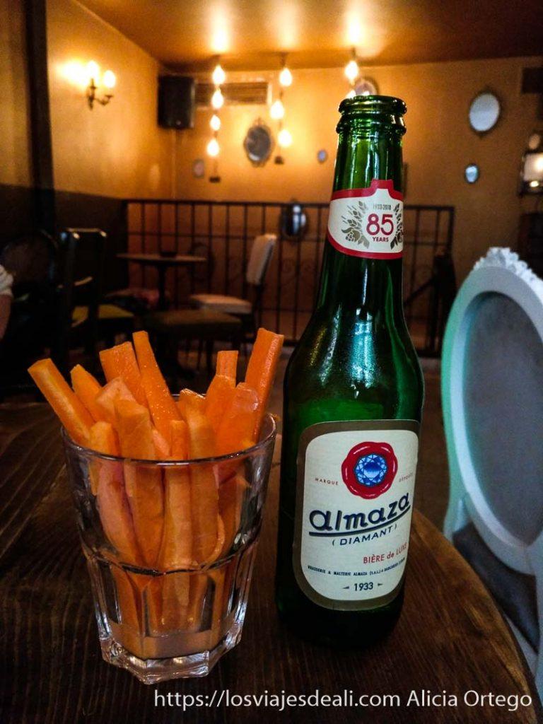 cerveza almasa de líbano