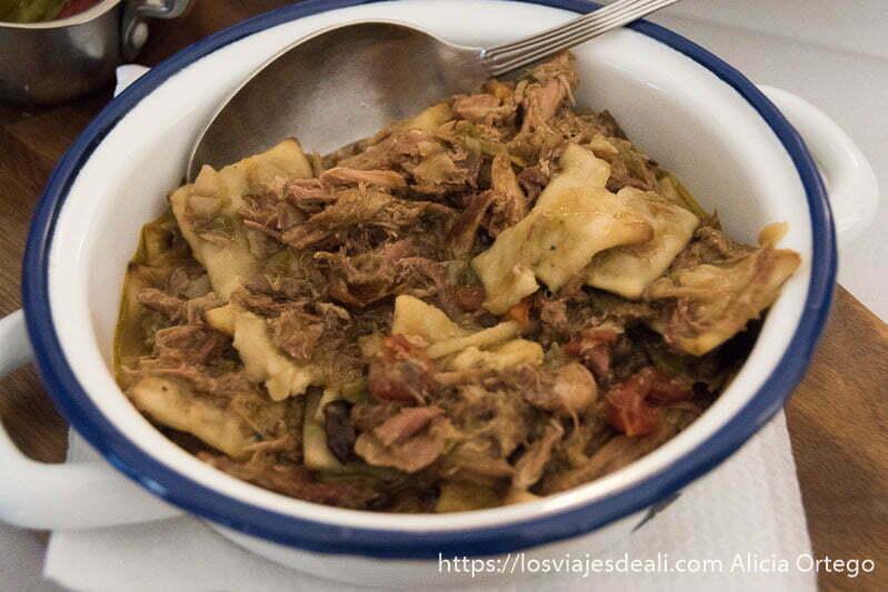 plato de gazpacho manchego