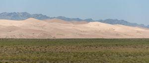 dunas del desierto del gobi