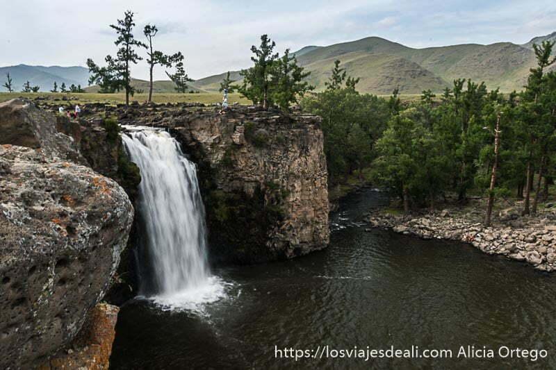 cascada del valle de orkhon